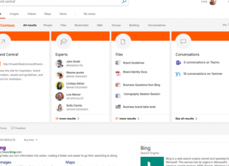 Microsoft unifying search throughout Bing, Workplace, and Windows