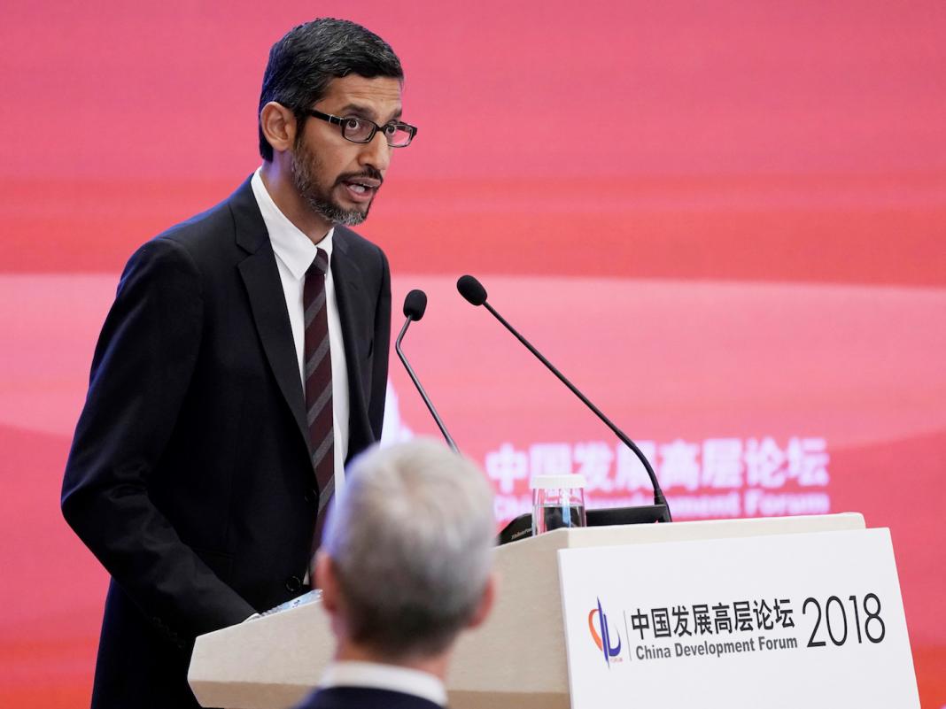 Google CEO Sundar Pichai will consult with GOP legislators to talk about China strategies and declared predisposition versus conservatives (GOOG, GOOGL)