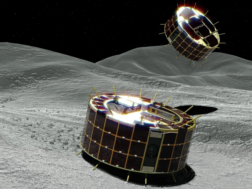 Why Japan is landing hopping robotics on an asteroid
