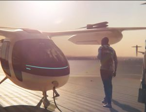Uber exposes more about its flying taxi aspirations video
