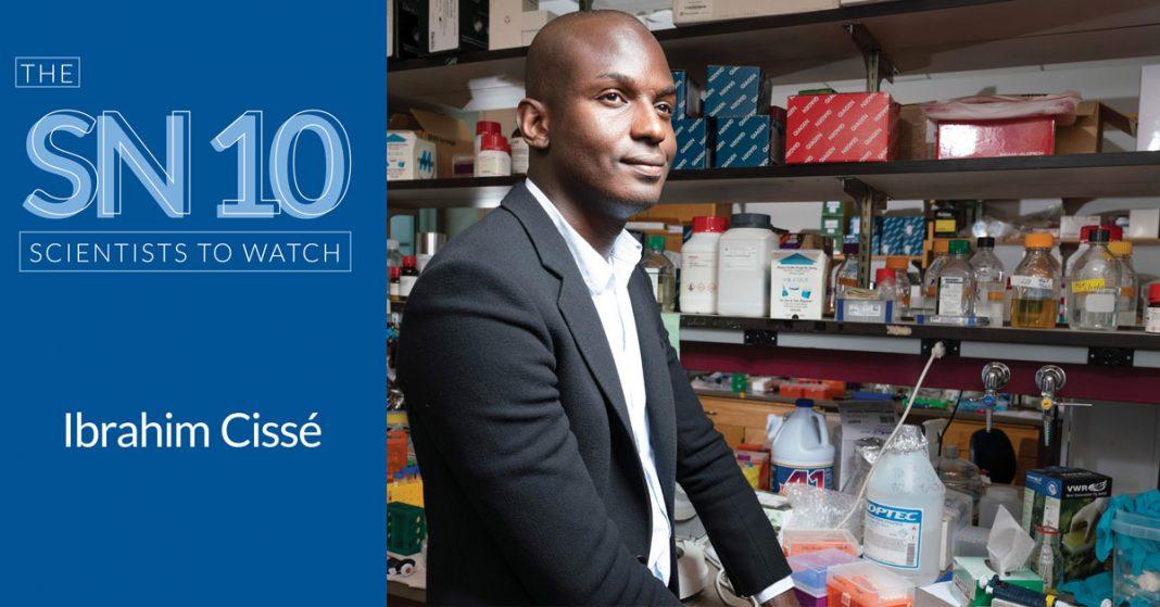 Ibrahim Cissé opens cells' tricks utilizing physics