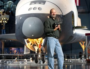 NASA photographer talks rocket launches and a digicam 'that smells like a campfire'