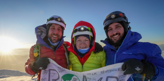 A group of amputee-athletes effectively summited one South America's hardest peaks