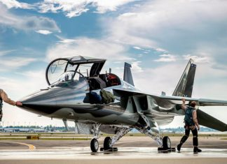 Boeing/Saab joint T-X style wins Flying force's jet fitness instructor competitors