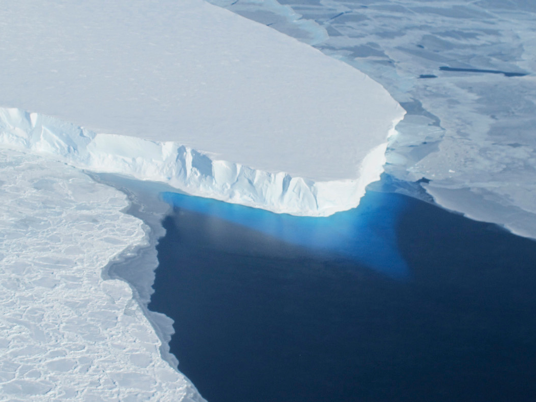 Researchers believe a huge synthetic wall propped up under Antarctica's ice sheets might stop devastating water level increase