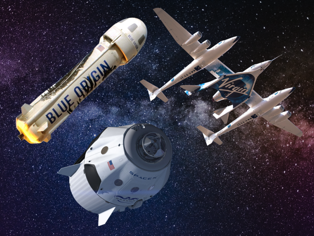 How SpaceX, Blue Origin, and Virgin Galactic intend on taking you to area