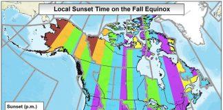 Fall Equinox Daytime Maps