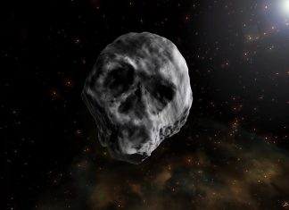 Grinning-Skull Asteroid Set to Whiz by Earth