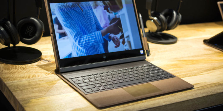 Hands On Hp S Leather Clad Laptop Computer May Simply Be The Very Best