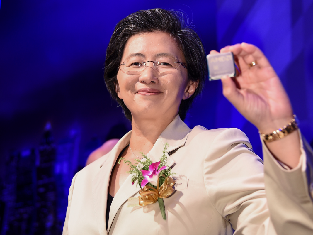 AMD drops after report states Intel might increase production of its 10- nanometer chips quicker than anticipated (AMD, INTL)
