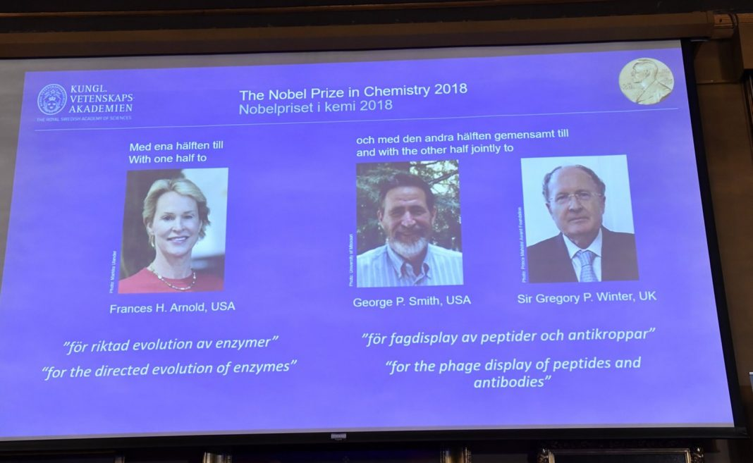 Chemistry Nobel Granted to Biologists for Taking the Reins on Advancement