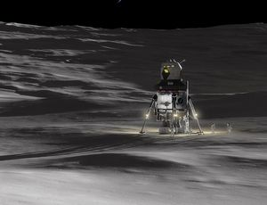 This Lunar Lander intends to be a lifeline for a future Moon nest video