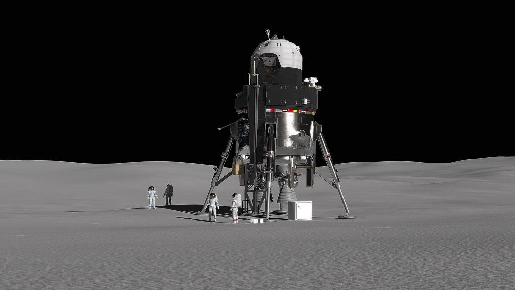 Lockheed Martin Reveals Their Proposition For a Lunar Lander