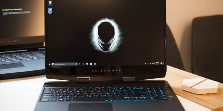 Alienware m15 laptop computer sports activities thinnest Dell gaming design, Nvidia Max-Q GPUs