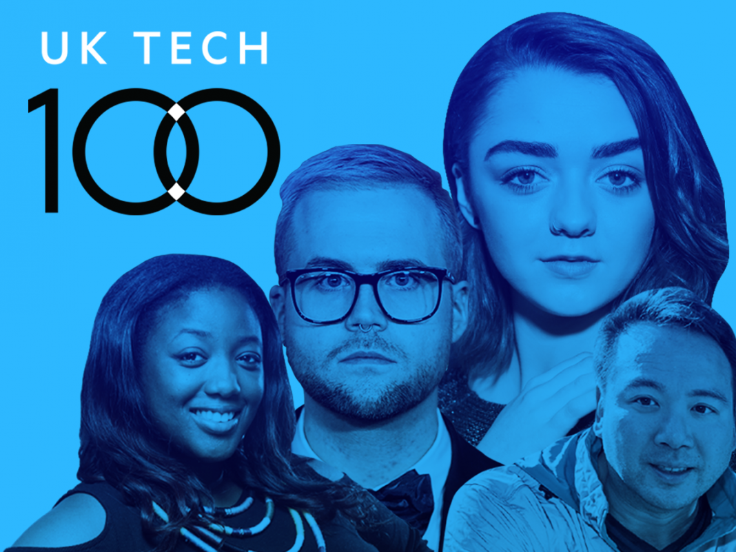 The 100 coolest individuals in UK tech