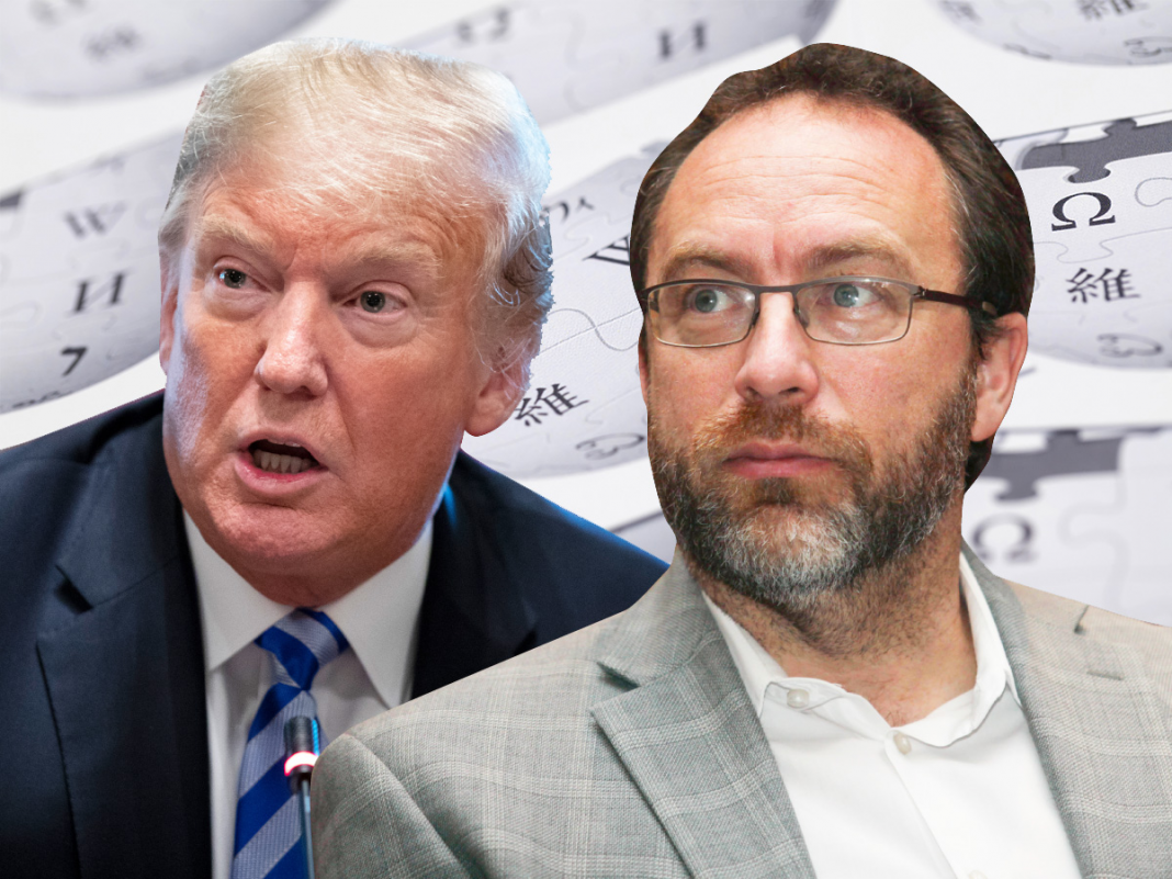 Wikipedia creator Jimmy Wales: There's going to be an 'massive reaction' versus Donald Trump's lies