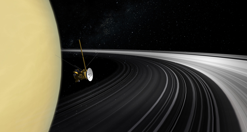 Saturn's 'ring rain' is an unexpected mixed drink of chemicals