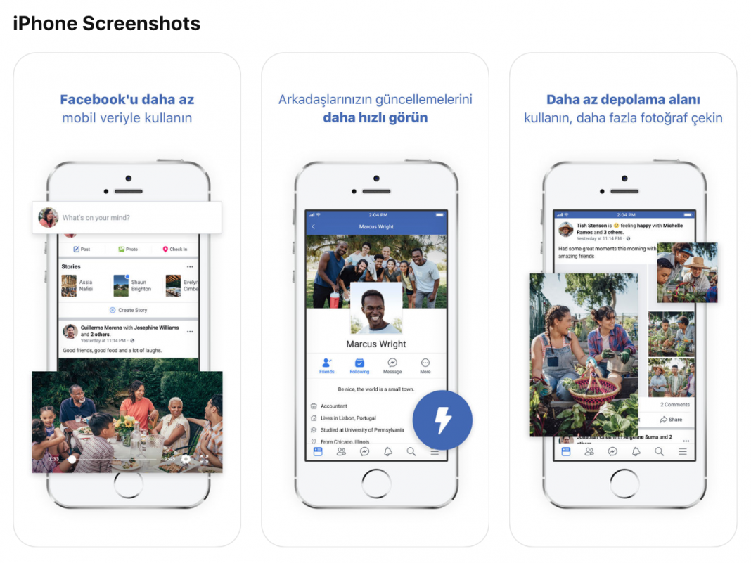 Facebook simply released a 'lite' variation of its app for iPhones– however you most likely can't download it yet (AAPL, FB)
