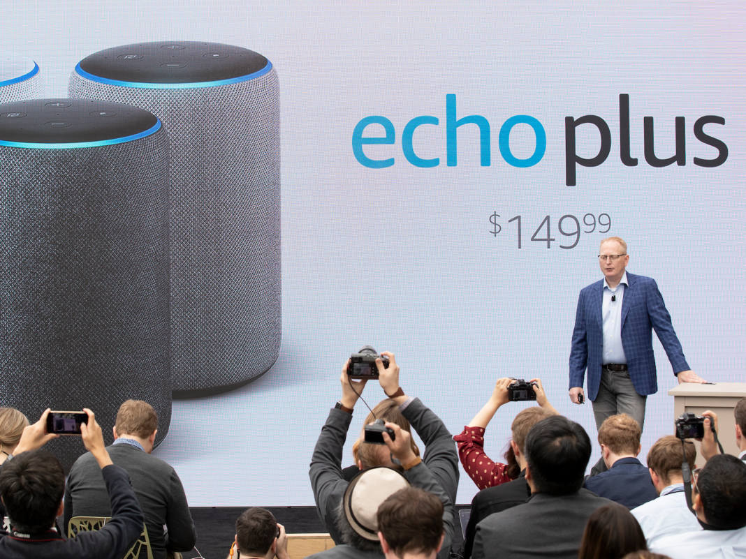 Amazon revamped its most effective Echo, the $150 Echo Plus– here's how it compares to the old variation (AMZN)