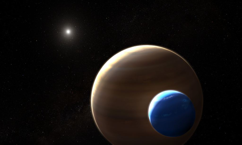 Very First Exomoon Found! A Neptune-Sized Moon Orbiting a Jupiter-Sized World