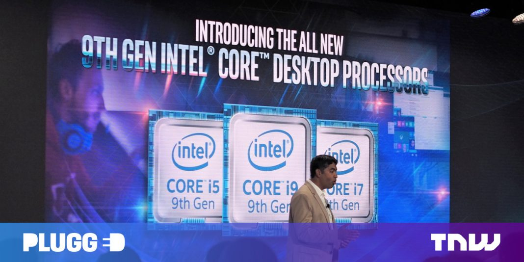 Intel's 9th-gen processors bring 8 cores and a 5 GHz i9 chip