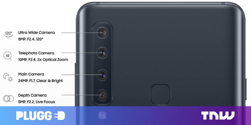 Samsung A9 Pro's 4 cams might consist of telephoto, ultra-wide, and depth-sensing optics