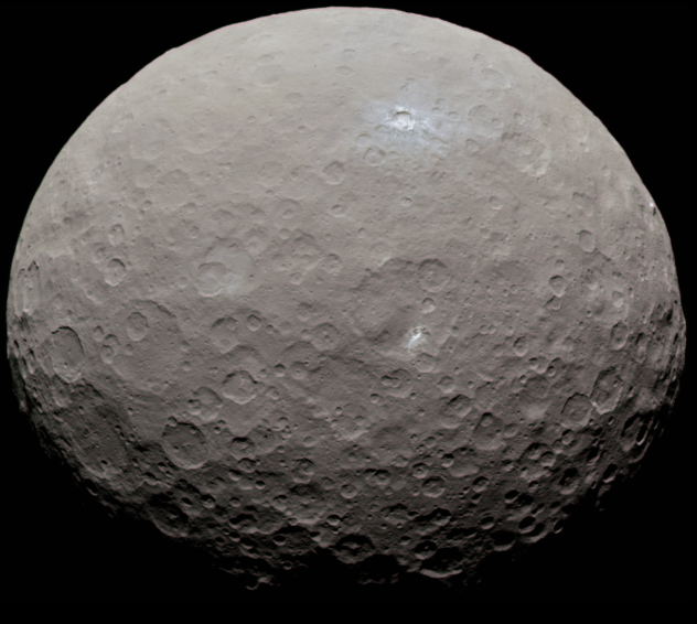 Ceres Rolled Over at some time in the Past