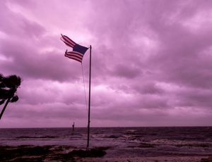 After Typhoon Michael, Florida skies turned purple. Here's why