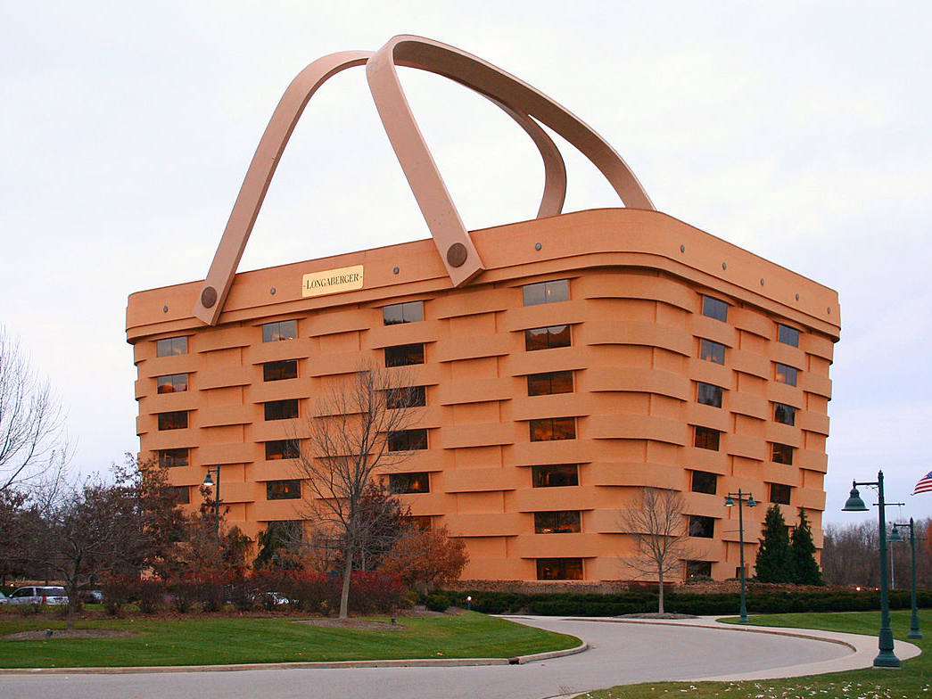 The ugliest structure in every United States state, according to individuals who live there