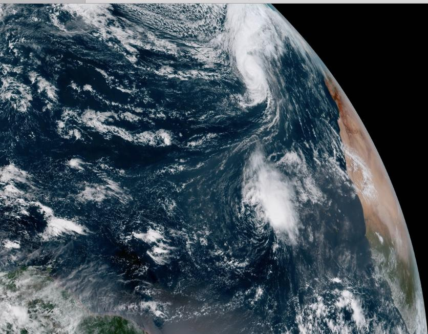 You Are Not Hallucinating – Cyclone Leslie Is Headed Towards Spain And Africa
