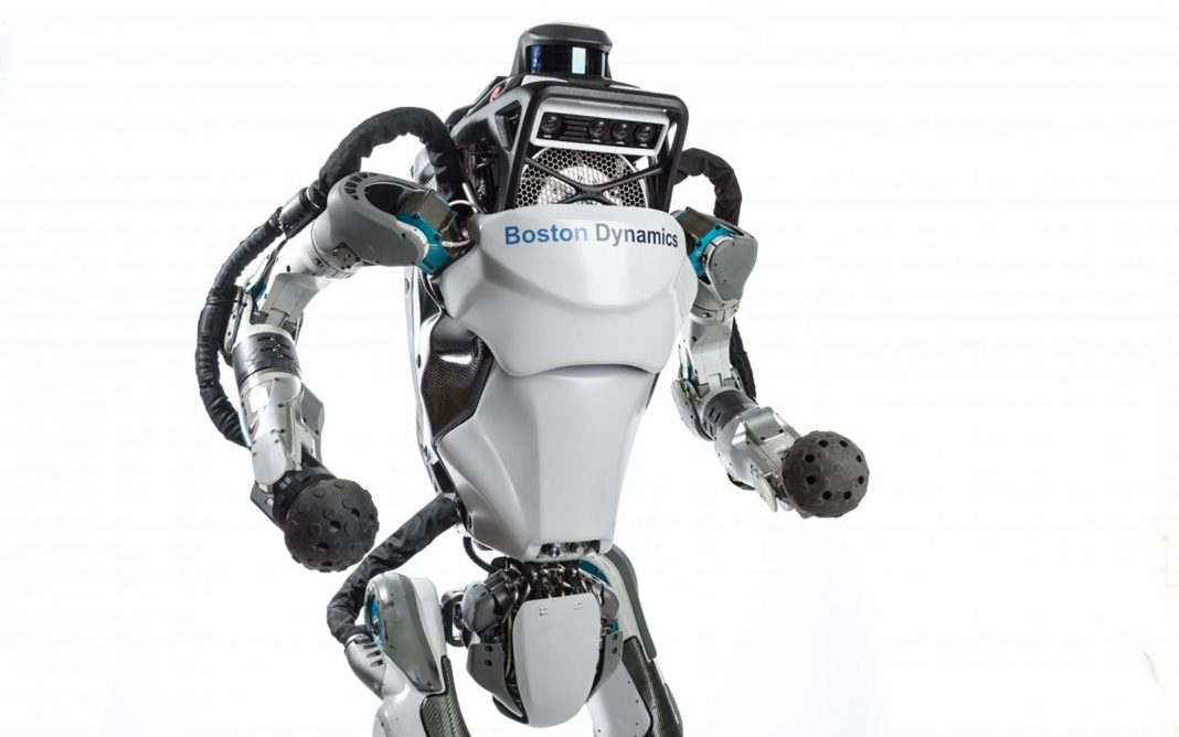 Humanoid Robotic Atlas Can Now Do Parkour which's Not Scary