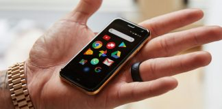 Palm increases from the dead as a zombie brand name, introduces small mobile phone