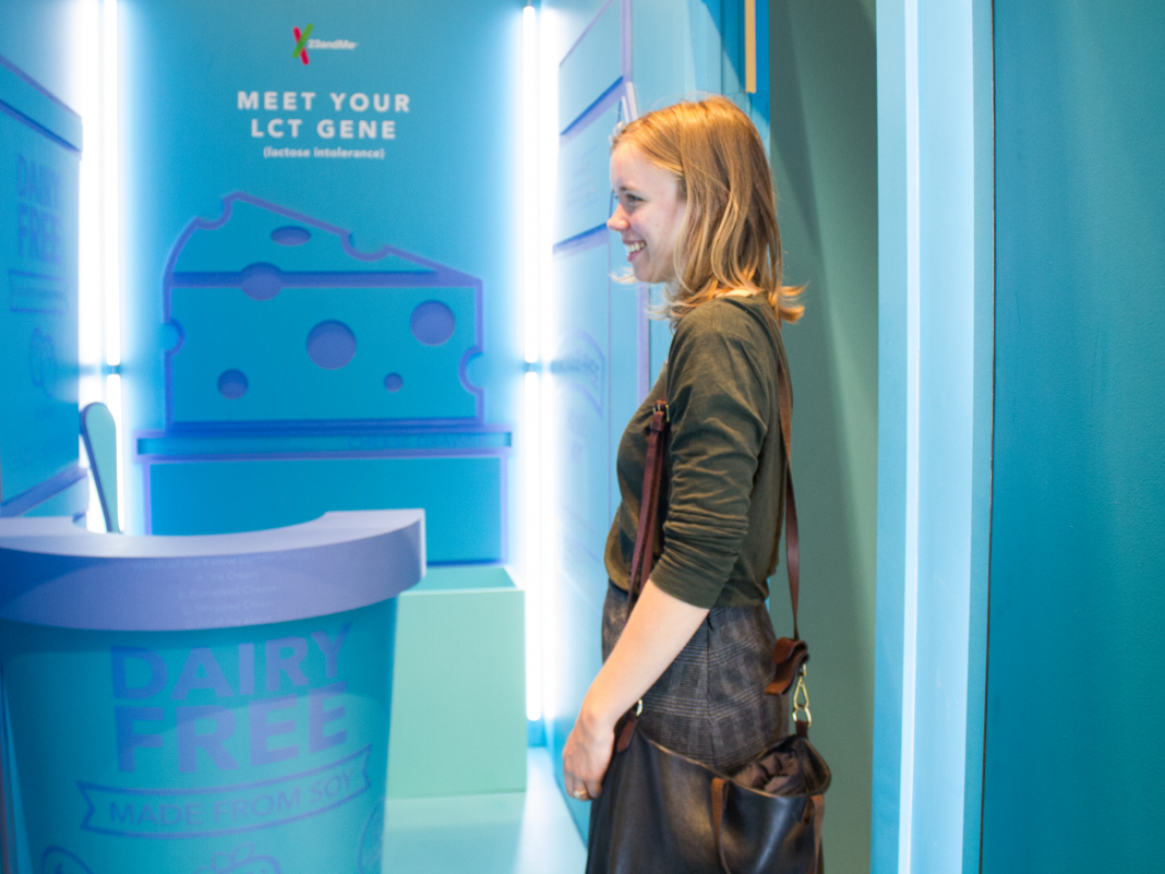 23 andMe opened a phony home in New York City where you can fulfill your genes– have a look inside