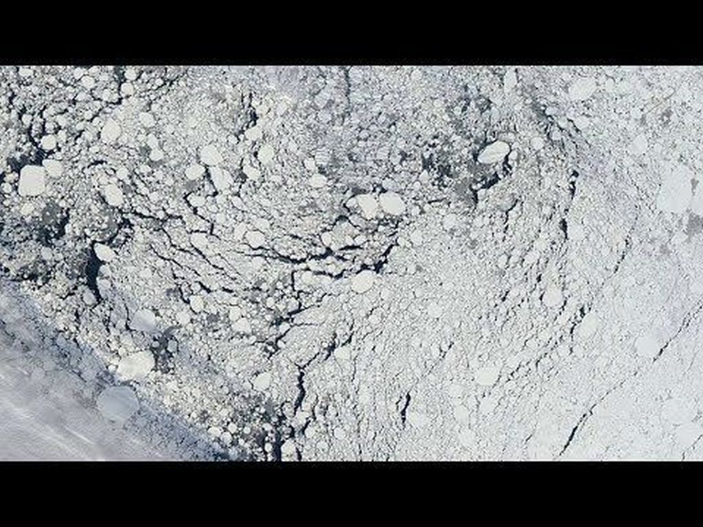 You have actually Got to View this Spectacular NASA Video of Arctic Sea Ice. Now at its Lowest Levels