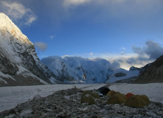 Why Does This Glacier Near Everest Make Loud Flourishing Sounds during the night?