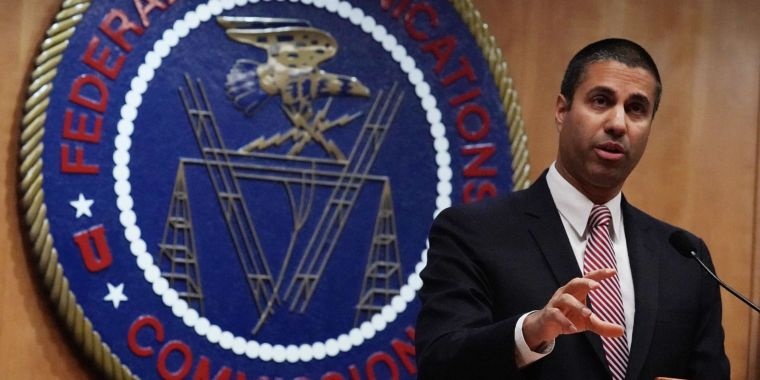 Approximately 9.5 million net neutrality remarks were made with taken identities