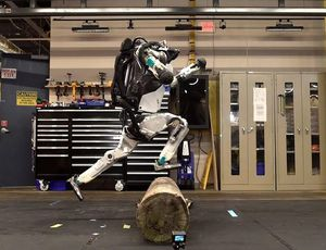 This robotic does parkour (What the Future) video