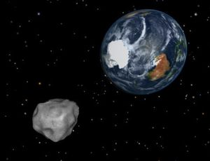 Truck-size asteroid makes fourth-closest go by Earth on record