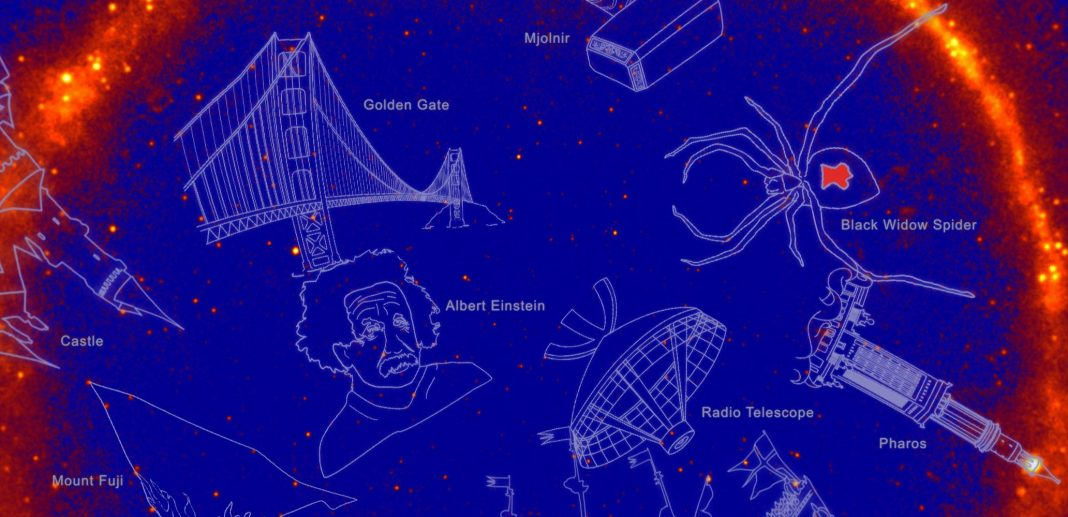Einstein and the Unbelievable Hulk Now Have Their Own Constellations (However You'll Never ever See Them)