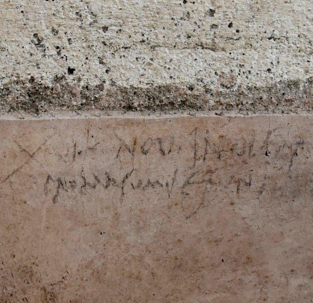 Pompeii Graffiti May Rewrite Plan of Vesuvius Eruption
