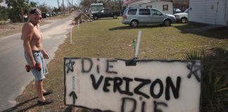 12 days after typhoon, Verizon states Florida network is back to regular