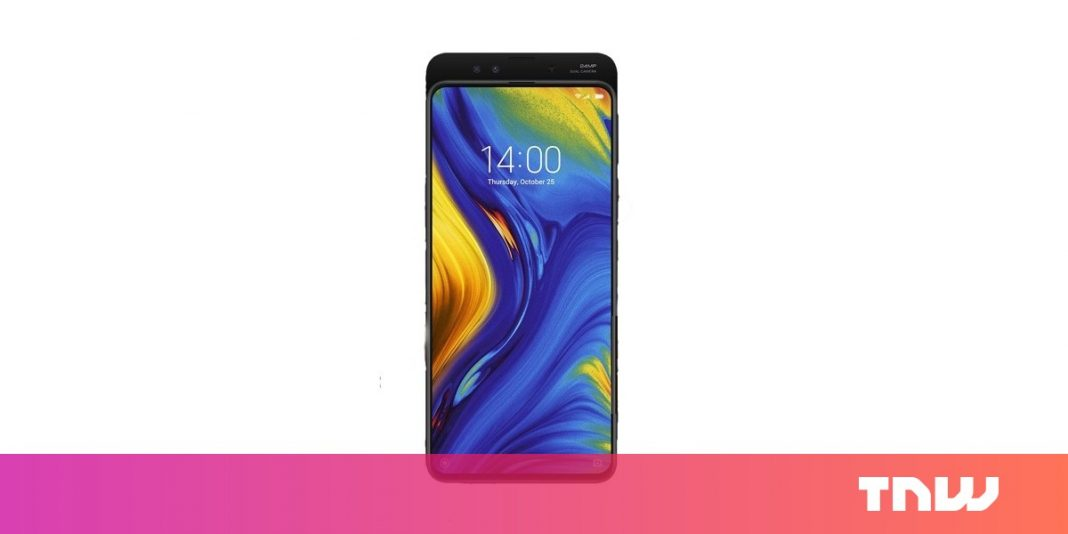 Whatever we understand about Xiaomi's outrageous Mi Mix 3