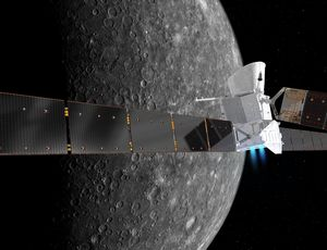 Mercury-bound spacecraft returns very first selfies
