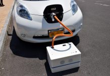 Charging An Electric Automobile With SparkCharge: As Easy As Buying A Pizza