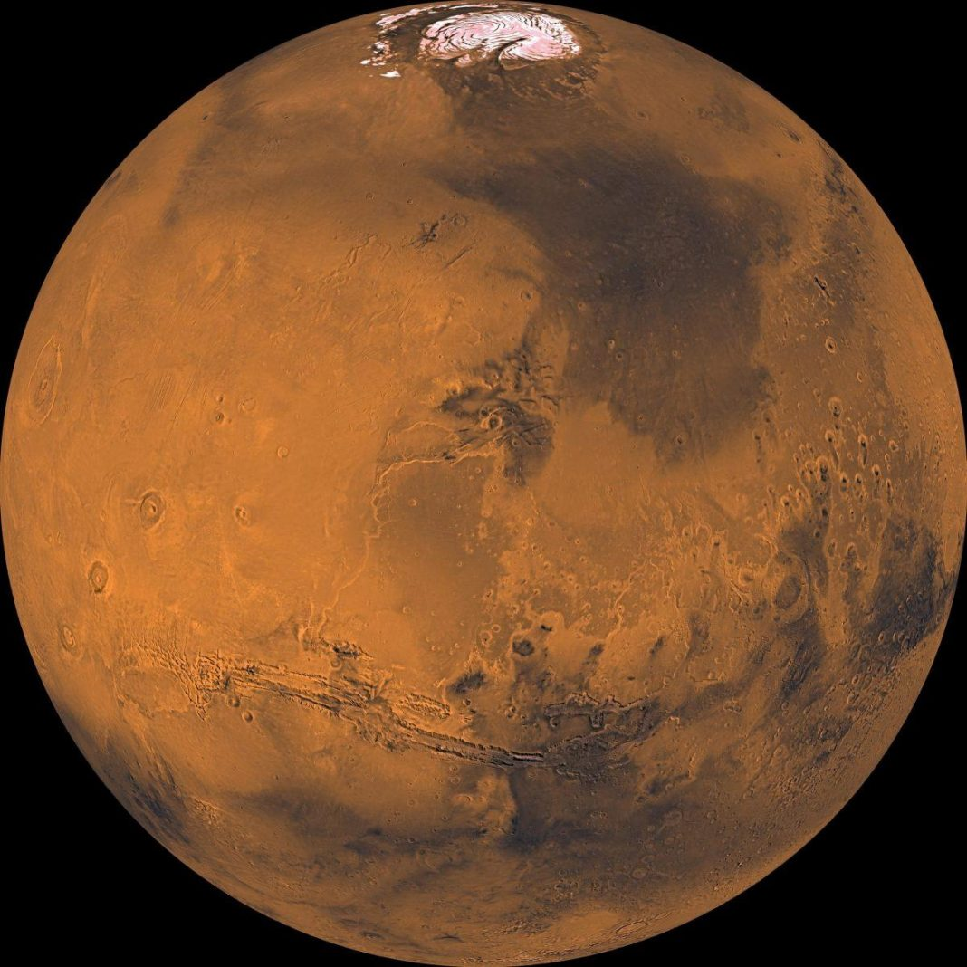 Mars Might Be Packed With Liquified Subsurface Oxygen