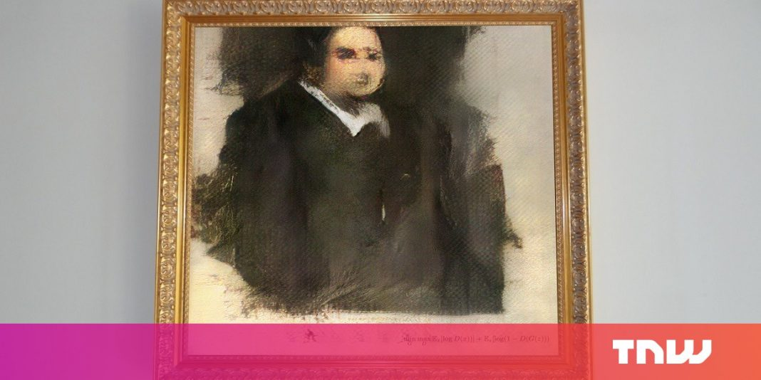 Somebody paid $432 K for art produced by an open-source neural network