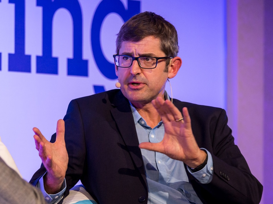 Louis Theroux enjoys being a viral web meme, even if he does not comprehend why