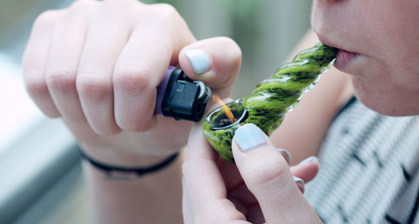 Youths's memories enhanced when they stopped utilizing cannabis