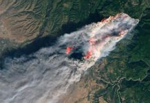 NASA maps fatal California fire damage from area