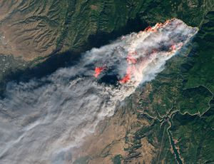 NASA maps fatal California fire damage from area